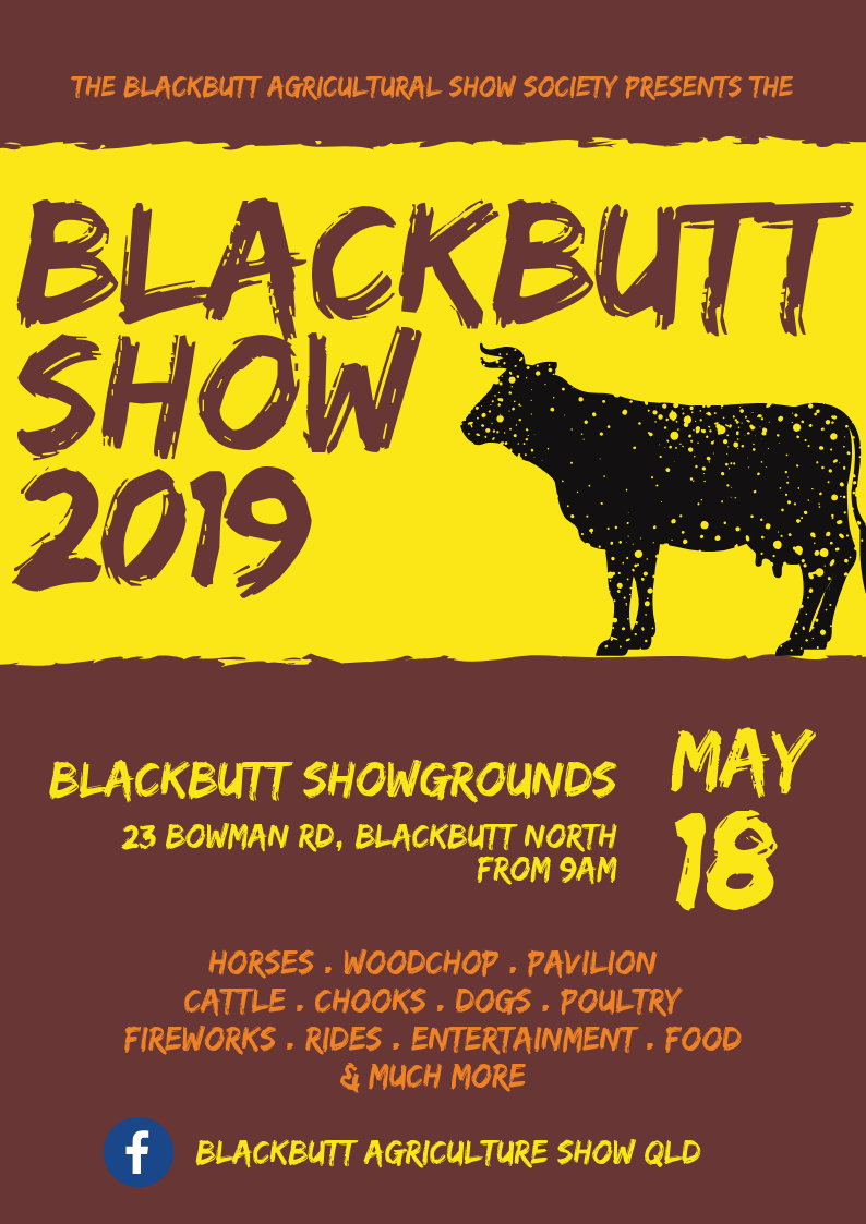 Blackbutt flyer